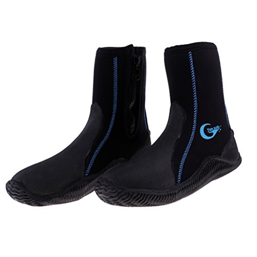 Neoprene Sneakers Snorkeling Black Magideal Generico Shoes 5mm IBw1ZW0q