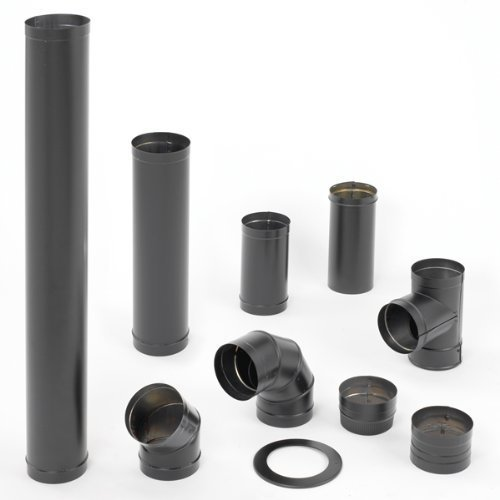 6 inch stove pipe t - 1