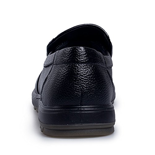 Bussiness CFP On Cozy Leather Shoes Black Charming Size Comfy Smart Four 8151 6 Casual Seasons Mens Multi UK Slip gqpXqOABw