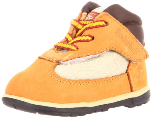 Pictures of Timberland Field Crib Bootie (Infant) Brown 1