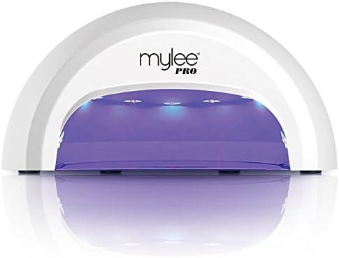 Lampada uv led per gel unghie mylee pro led second convex