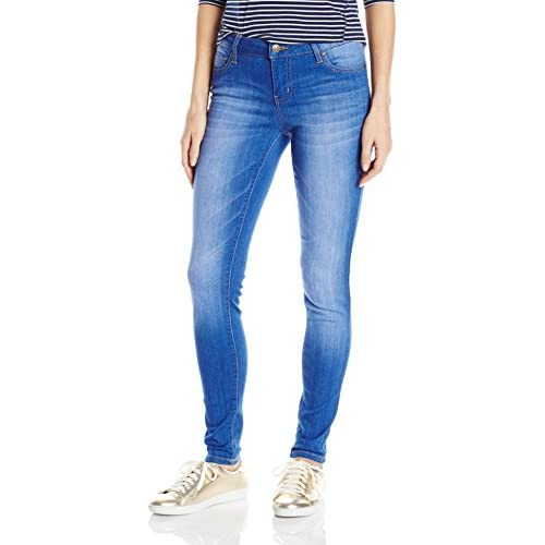 a276a053 Celebrity Pink Jeans Women's Infinite Stretch Mid Rise Skinny Jean