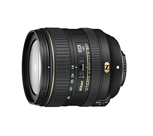 Nikon AF-S DX NIKKOR 16-80mm f/2.8-4E ED Vibration Reduction Zoom Lens with Auto Focus