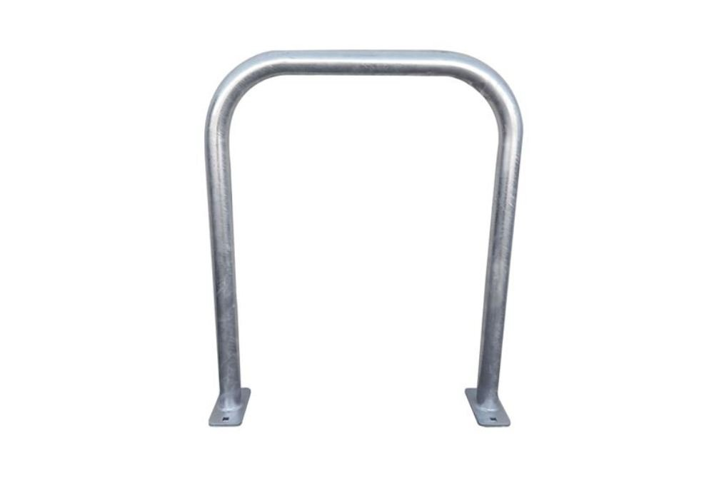 Bike Parking Rack Commercial Grade Inverted U Galvanized Finish