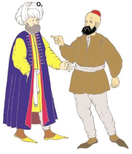 Ottoman Turkish Man Pattern by Reconstructing History