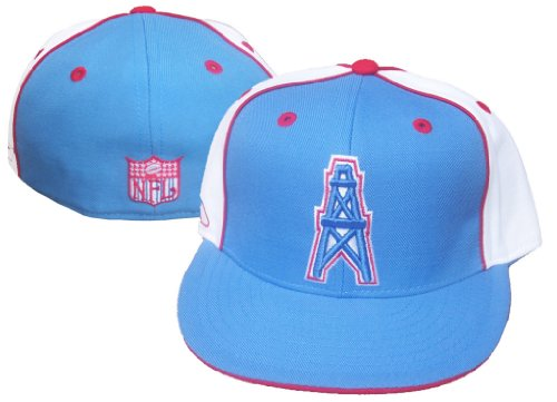 Reebok Houston Oilers NFL Vintage Fitted Size 7 1/8 Hat Cap ()