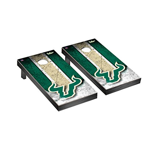 Victory Tailgate South Florida USF Bulls Desktop Mini Cornhole Game Set
