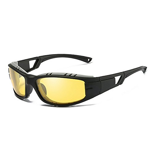 KTYX De De Prueba Gafas A Montar de Gafas Sol De Sol Polarizadas Sol Amarillo Gafas Sol De De Gafas Color Amarillo Viento Gafas pfZnxwqrp