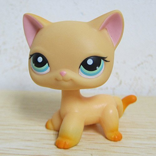Lps Short Hair Cat And Collie In Love