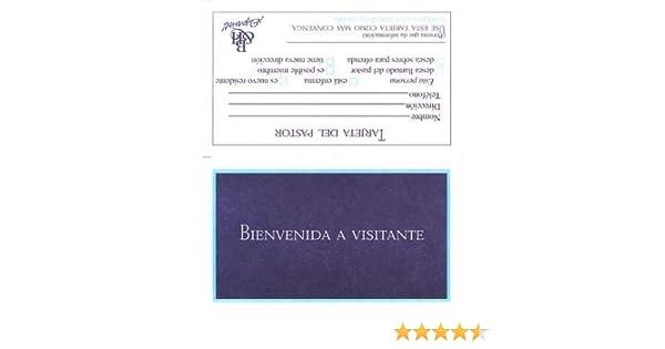 eeb083971 Amazon.com   Formulario Wv-7  Tarjeta Bienvenida a Visitante