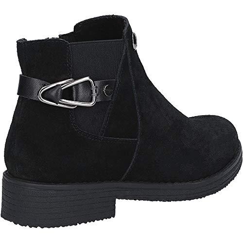black 000 Femme Boot Noir Chelsea Hush Puppies Bottes Alaska q881n0