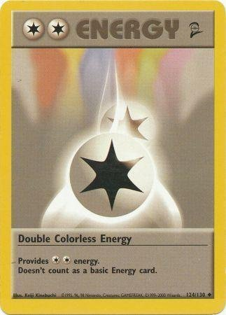 pokemon trading card game 2 double colorless energy - 1