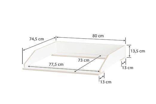 Wickelaufsatz Aufsatz Für Ikea Hemnes Kommode Stabiles Holz Keine