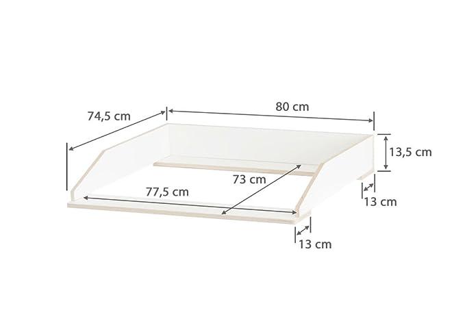 Wickelaufsatz Aufsatz Fur Ikea Hemnes Kommode Stabiles Holz Keine