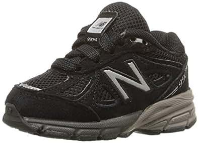New Balance KV990 Infant Running Shoe (Infant/Toddler), Black, 2 M US Infant