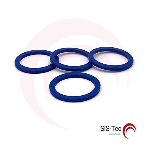 Cerchi distanziatori in alluminio 72, 2 x 57, 1 mm (4 pezzi) SiS-Tec