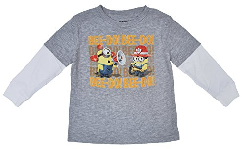 Minion Toddler Infant T Shirt Firefighter