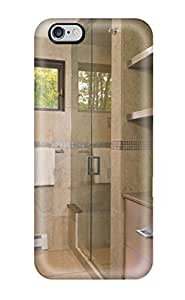 Iphone High Quality Tpu Case/ Modern Bathroom With Stainless Steel Cabinets And Glass Shower DLaegeM1193zlHDl Case Cover For Iphone 6 Plus by Maris's Diary