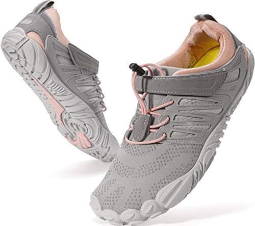Amazon Com Whitin Women S Barefoot Minimalist Shoe Zero Drop Sole Trail Runner Trail Running
