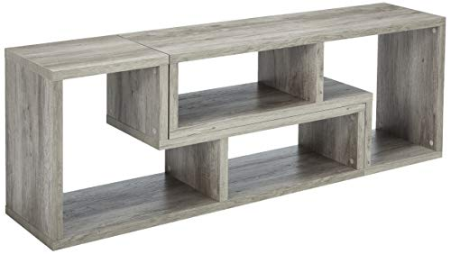 Coaster Center - Coaster Home Furnishings 802330 Coaster Contemporary Grey Driftwood Convertible Bookcase TV Stand