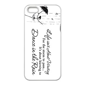 Elegant Dance In The Rain Brand New And Custom Hard Case Cover Protector For Iphone 5s