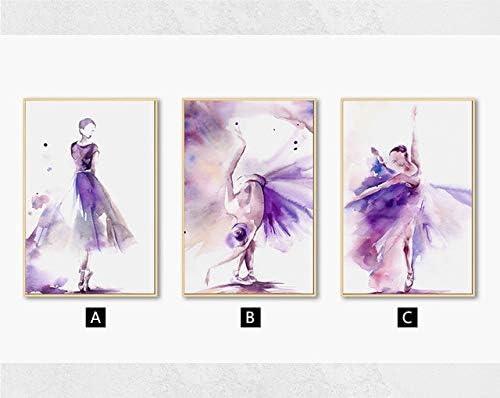 WXZhome Nordic Moderne Bunte Charaktere Stil Hand Zeichnen Leinwand Malerei Poster Drucken Dekor Wandkunst Bilder F/ür Wohnzimmer Schlafzimmer-10x15cm ohne Rahmen/_EIN