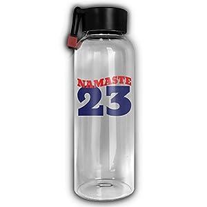 NAMASTE 23 Keep Warm Water Glass Giass