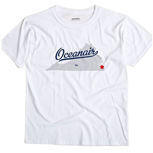 oceanair-virginia-va-map-greatcitees-unisex-souvenir-t-shirt