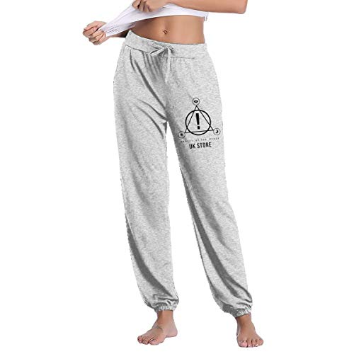 Gltiosr Panic at The Disco Women's Gym Workout Jogger Pants Casual Long Sweatpants Pockets L Gray for $<!--$32.79-->