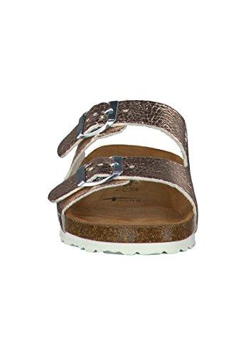 Tamaris Double Sandal Schwarz Birki Strap R0waqAg0