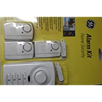 Ge Alarm Kit Home Security Window and Door Alarm