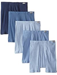 Hanes Men's 5-Pack ComfortSoft Boxer Briefs (XX-Large,...