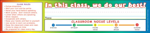 (Good Student! Super School Tool Name Plates)