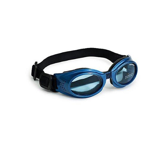 Doggles DGORMD04 Medium Originalz - Metallic Blue Frame - Blue Lens by Doggles