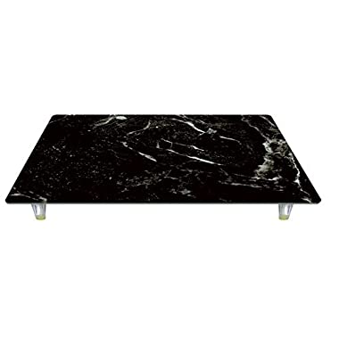 CounterArt Black Marble Tempered Glass Instant Counter