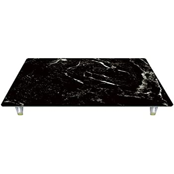 CounterArt 'Black Marble' Design Tempered Glass Instant Counter