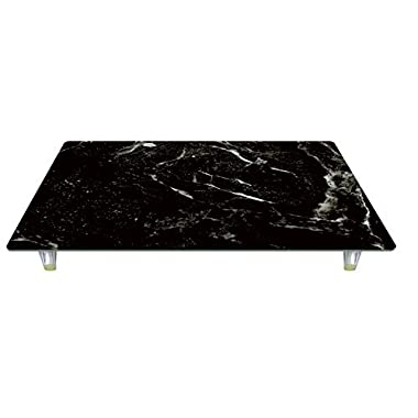 CounterArt 27078 'Black Marble' Design Tempered Glass Instant Counter