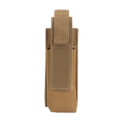 VooDoo Tactical Tourniquet Pouch with Medical Shears Slot, Coyote - Velcro Tourniquet