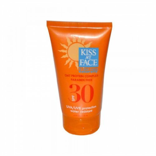 Kiss My Face Sun Screen SPF 30 with Oat Protein Complex - 4 fl (Sun Care Oat Protein)