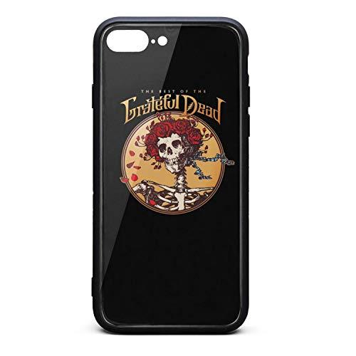 iPhone 7 Plus/iPhone 8 Plus Case Grateful-Artist-Dead-Aesthetic- Slim Soft TPU Protective for iPhone 7 Plus/iPhone 8 Plus ()