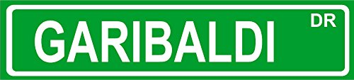 GARIBALDI fish street sign 4