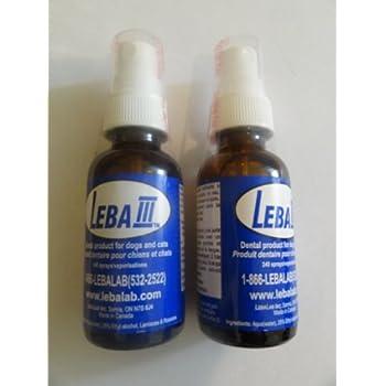 Leba III Pet Dental Spray - 2 Pack
