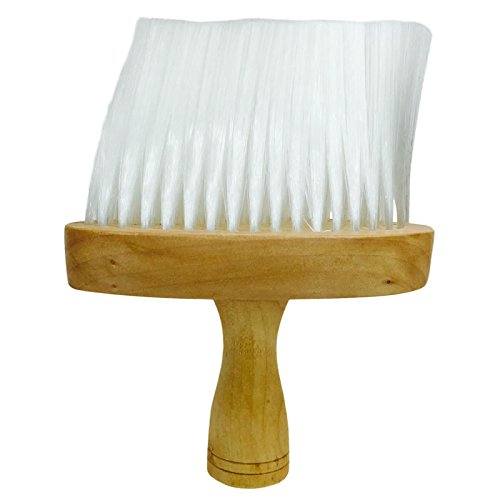 Professional Hairdressing/Barber Wooden Neck Brush - Soft Bristles CoolBlades