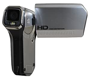 DXG USA DXG-5B6VS HD DXG QuickShots 720p HD Mini Camcorder, Silver (Discontinued by Manufacturer)