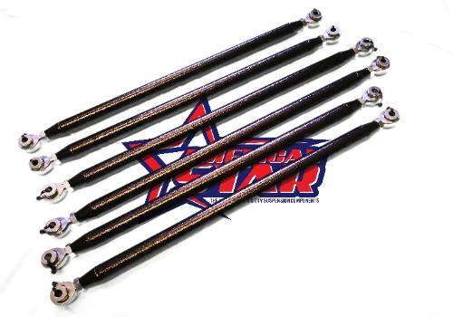 Rear Radius - American Star 4130 Chromoly Steel Can Am Maverick X3 64 Inch Rear Radius Rods (set of 6)