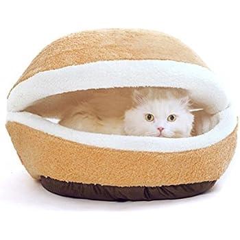 Amazon.com : Modovo Washable Shell-shaped Burger Bun Pet ...