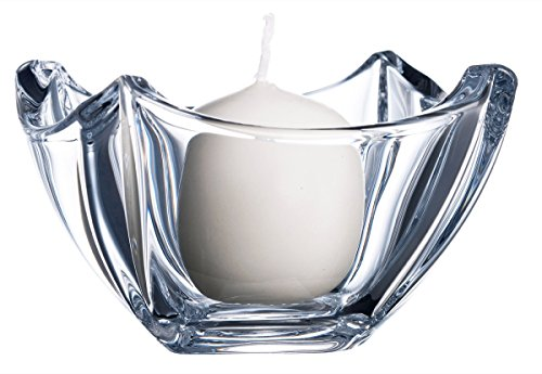 Belleek Pottery 45075 Dune Votive, 4.5-Inch, Clear, Set of 1