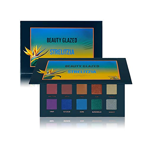 New Beauty Glazed 15 Color Eyeshadow Palette Makeup,Matte Eye Shadow Palette Waterproof Powder Natural Pigmented Smokey Professional Cosmetic