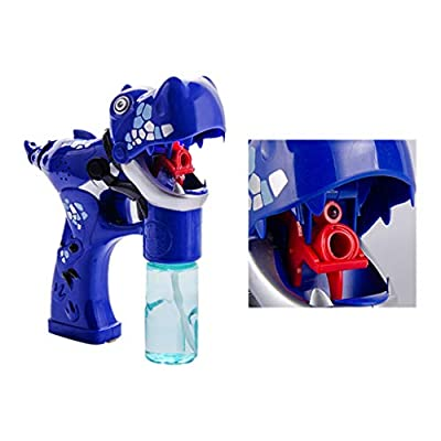 Gbell  Bubble Toys for 2 Year Old ,Cartoon Dinosaur Bubble Toys Blower with Led Flashing Lights and Music Summer Fun Activity Outdoor Toy Party Favor for Kids: Toys & Games