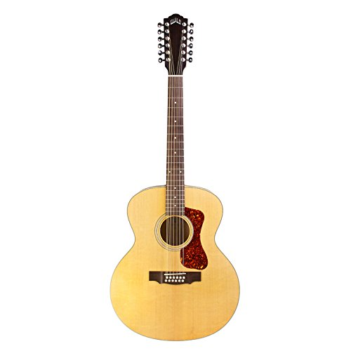Guild F-2512E Acoustic-Electric Guitar in - Jumbo Guitar String Acoustic 12